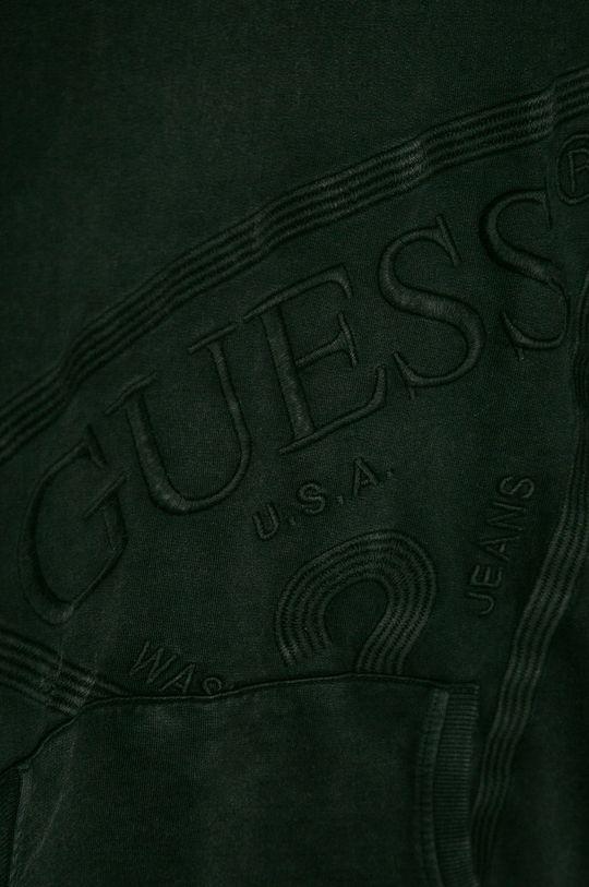 černá Guess Jeans - Dětská bavlněná mikina 116-175 cm