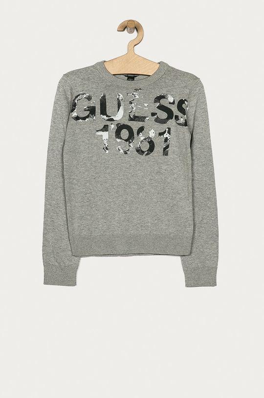 szary Guess Jeans - Sweter dziecięcy 116-175 cm Chłopięcy