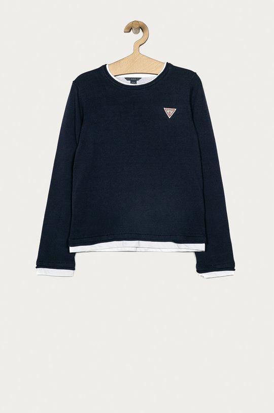 niebieski Guess Jeans - Sweter dziecięcy 116-175 cm Chłopięcy