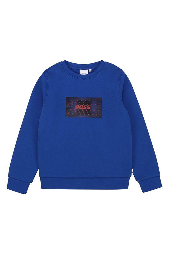 niebieski Boss - Bluza dziecięca 116-152 cm Chłopięcy