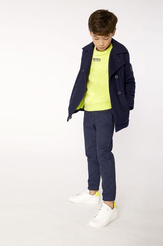 żółto - zielony Boss - Bluza dziecięca 116-152 cm Chłopięcy