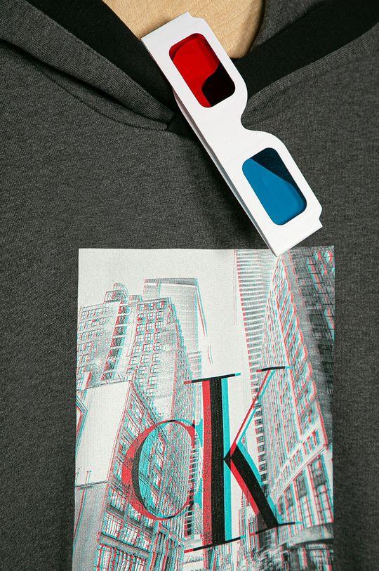 Calvin Klein Jeans - Bluza dziecięca 140-176 cm szary