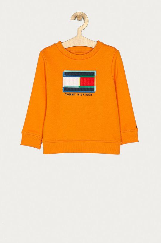 pomarańczowy Tommy Hilfiger - Bluza dziecięca 98-176 cm Chłopięcy