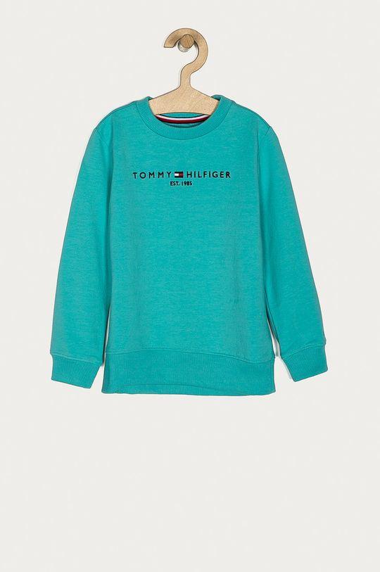 turcoaz palid Tommy Hilfiger - Bluza copii 98-176 cm De băieți