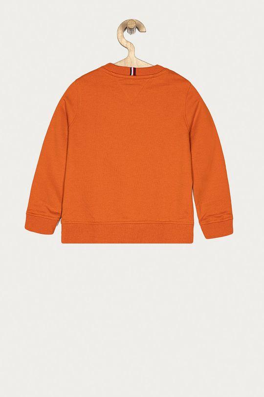 Tommy Hilfiger - Bluza dziecięca 98-176 cm mandarynkowy