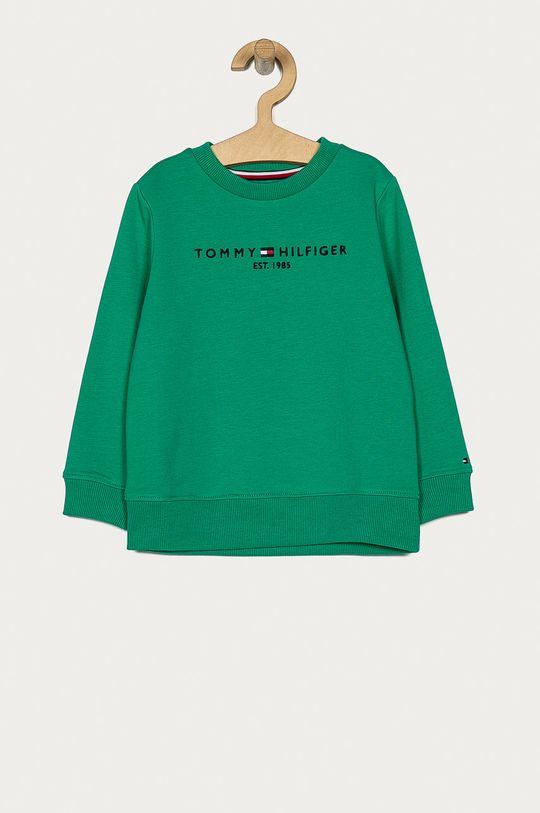 verde ascutit Tommy Hilfiger - Bluza copii 98-176 cm De băieți