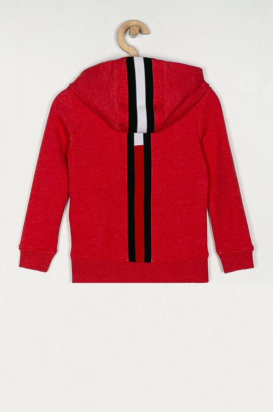 Tommy Hilfiger - Bluza copii 98-176 cm rosu
