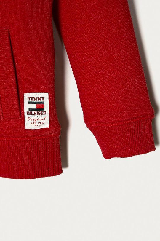 Tommy Hilfiger - Bluza copii 98-176 cm  Materialul de baza: 70% Bumbac, 30% Poliester  Banda elastica: 68% Bumbac, 5% Elastan, 27% Poliester