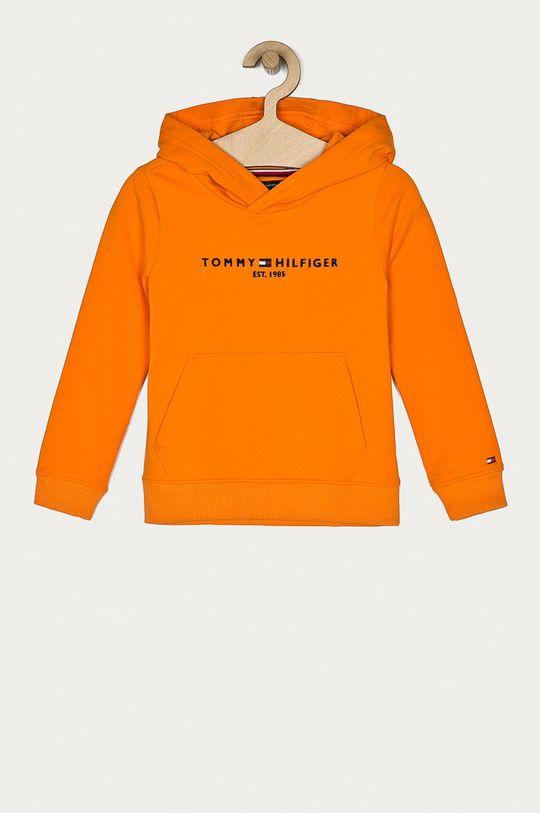 portocaliu Tommy Hilfiger - Bluza copii 98-176 cm De băieți