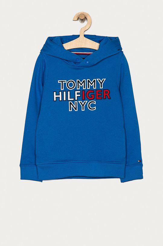 modrá Tommy Hilfiger - Detská mikina 116-176 cm Chlapčenský