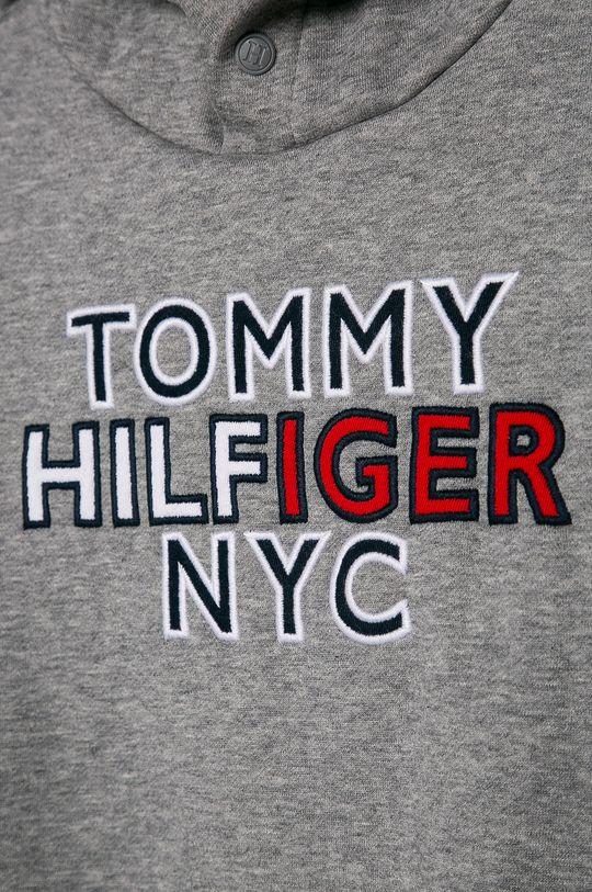 Tommy Hilfiger - Bluza copii 116-176 cm  Materialul de baza: 70% Bumbac, 30% Poliester  Captuseala glugii: 100% Bumbac Banda elastica: 97% Bumbac, 3% Elastan