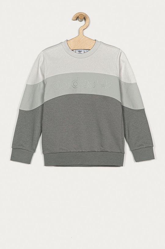 jasny szary adidas Originals - Bluza dziecięca 128-170 cm Chłopięcy