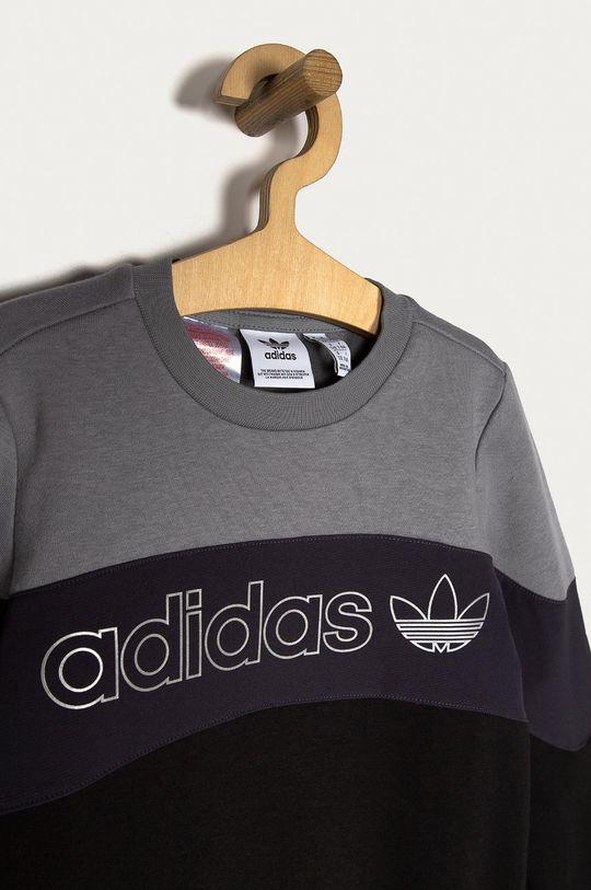 negru adidas Originals - Bluza copii 128-170 cm