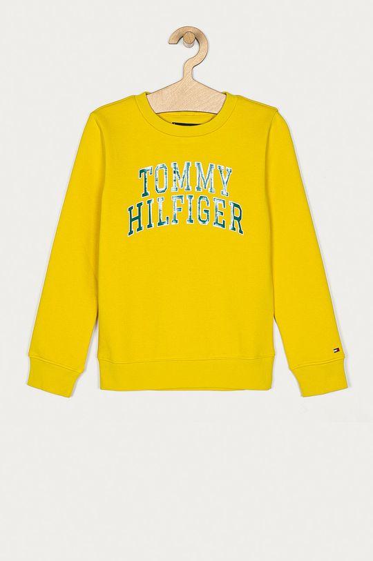 žltá Tommy Hilfiger - Detská mikina 128-176 cm Chlapčenský