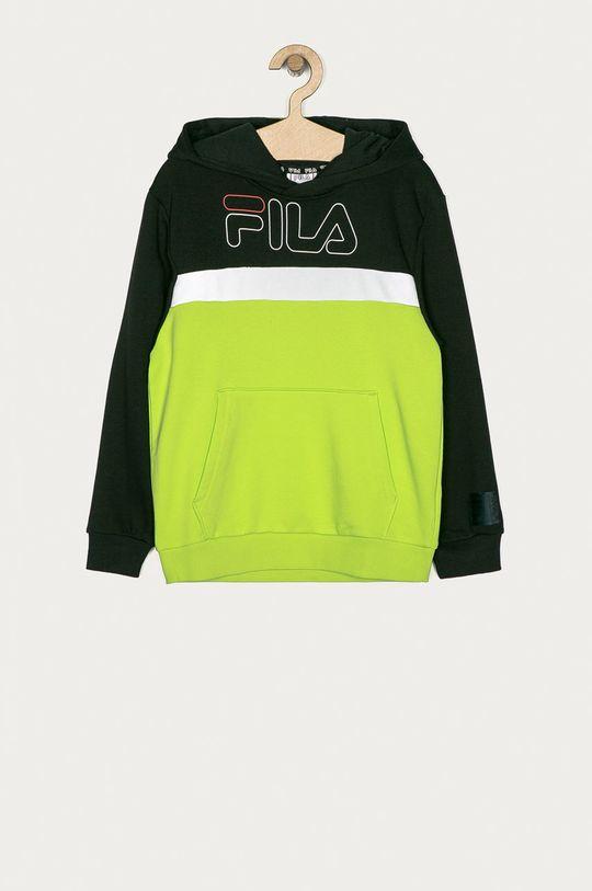 żółto - zielony Fila - Bluza dziecięca 134-164 cm Chłopięcy