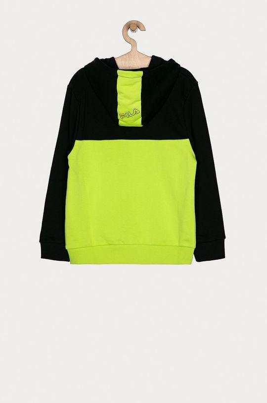 Fila - Bluza dziecięca 134-164 cm żółto - zielony