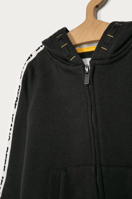 Pepe Jeans - Detská mikina Ezra 104-180 cm  Iné látky: 58% Bavlna, 2% Elastan, 40% Polyester 1. látka: 50% Bavlna, 50% Polyester 2. látka: 40% Bavlna, 60% Polyester 3. látka: 100% Bavlna