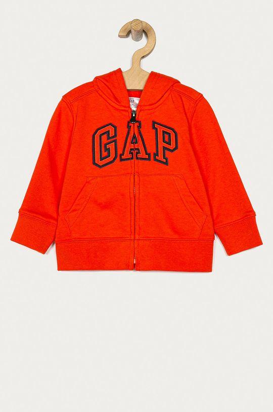 oranžová GAP - Detská mikina 74-110 cm Chlapčenský