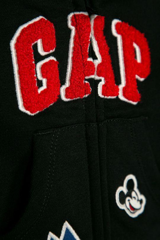 GAP - Kojenecká mikina 50-86 cm  Hlavní materiál: 77% Bavlna, 23% Polyester Podšívka kapsy: 100% Bavlna