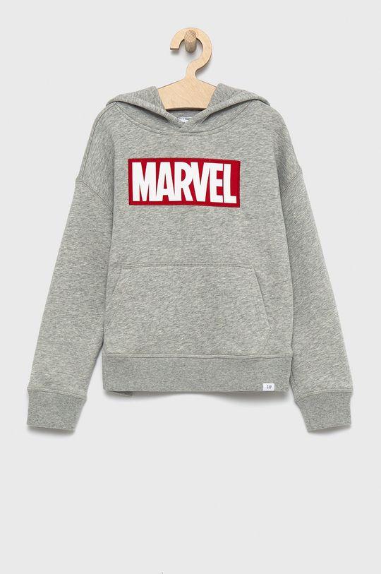 szary GAP - Bluza dziecięca x Marvel Chłopięcy