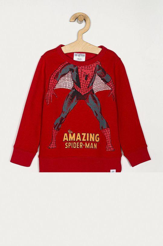 červená GAP - Detská mikina x Marvel 74-110 cm Chlapčenský