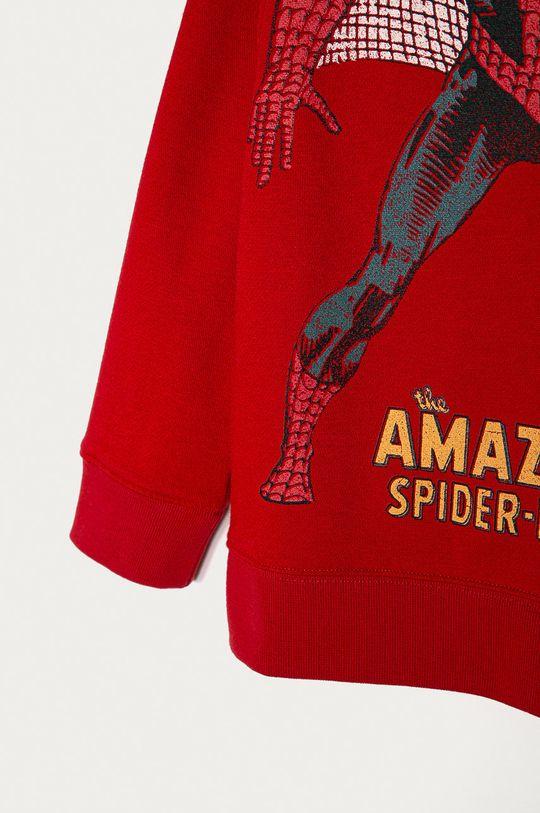 GAP - Detská mikina x Marvel 74-110 cm  77% Bavlna, 9% Recyklovaný polyester , 14% Polyester