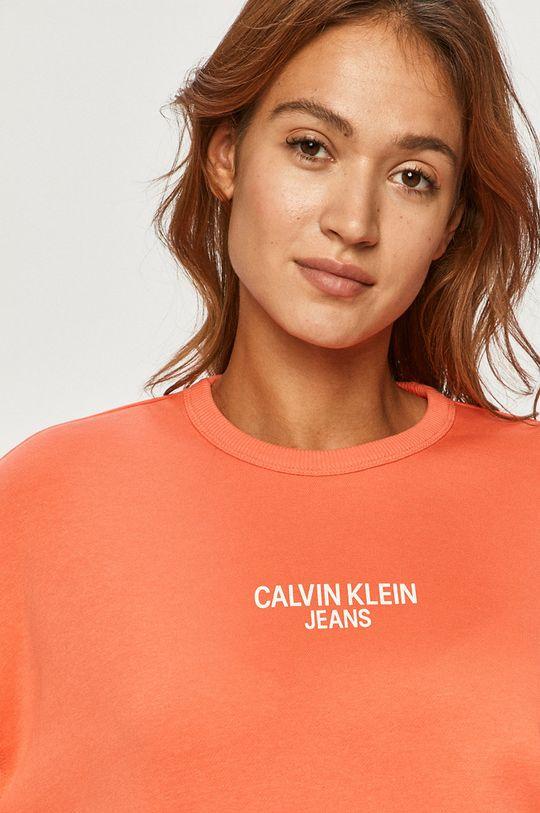 roz murdar Calvin Klein Jeans - Bluza