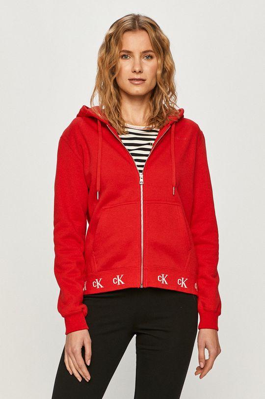červená Calvin Klein Jeans - Mikina Dámský
