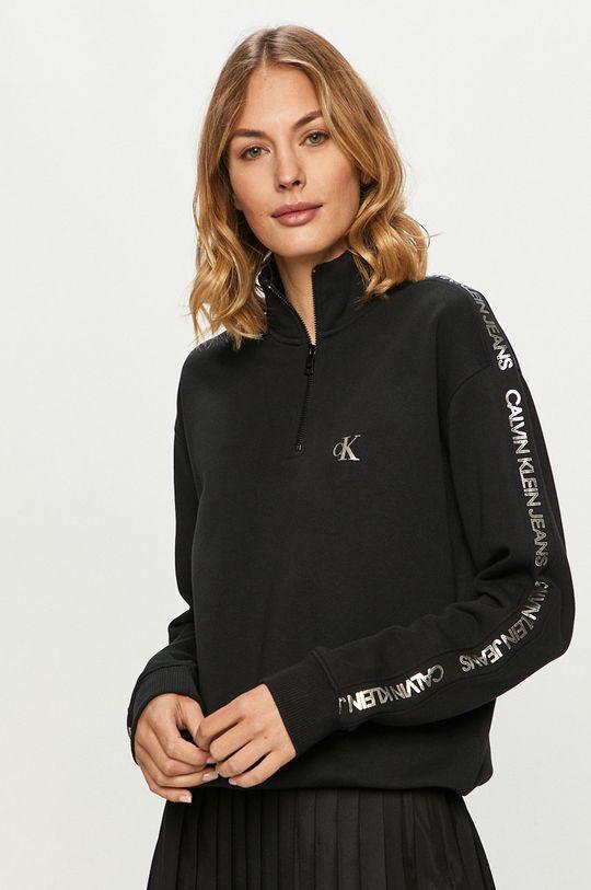 negru Calvin Klein Jeans - Hanorac de bumbac De femei