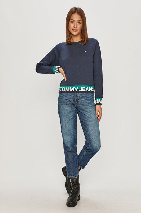 Tommy Jeans - Bluza granatowy