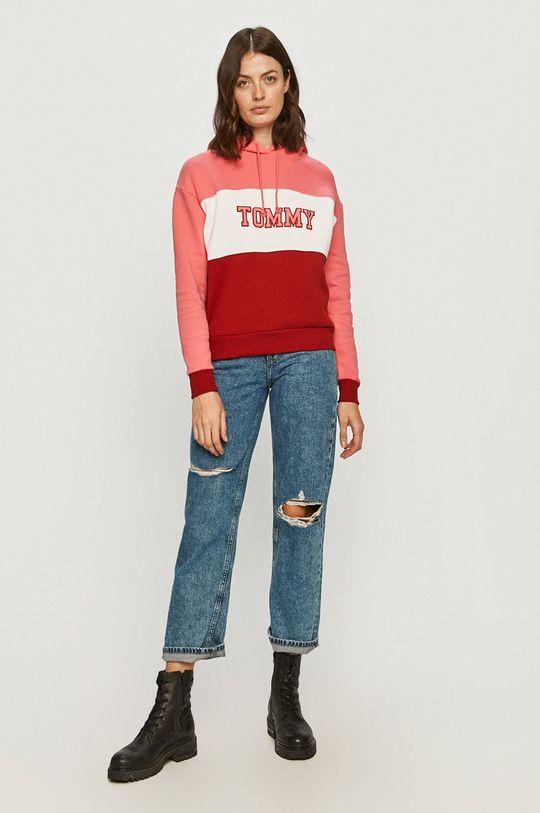 Tommy Jeans - Bavlnená mikina viacfarebná