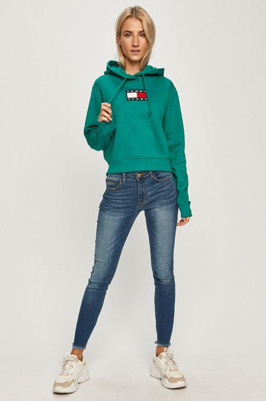 Tommy Jeans - Bluza bawełniana cyraneczka