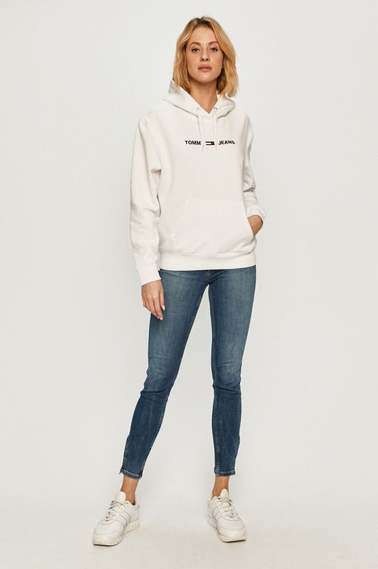 Tommy Jeans - Bluza biały