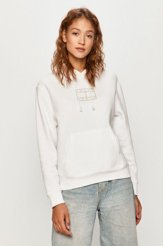 alb Tommy Jeans - Bluza De femei