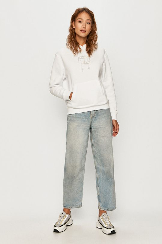 Tommy Jeans - Bluza alb