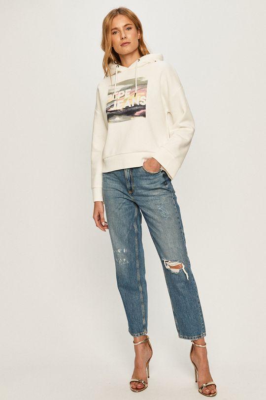Pepe Jeans - Bluza Bloosom biały