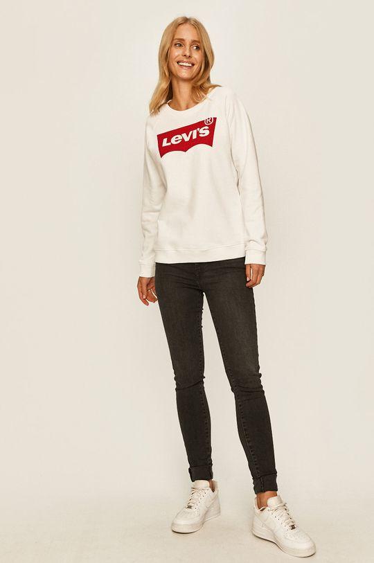 Levi's - Bluza biały