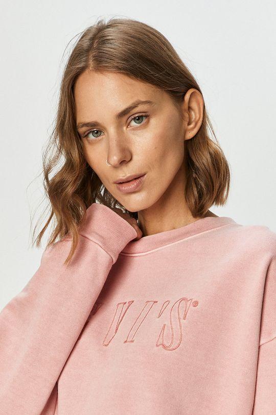 różowy Levi's - Bluza