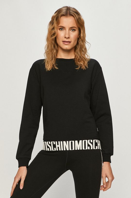 čierna Moschino Underwear - Mikina Dámsky