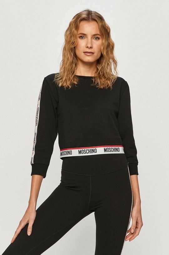černá Moschino Underwear - Mikina Dámský
