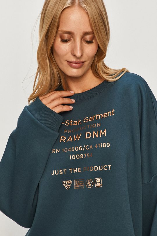 granatowy G-Star Raw - Bluza