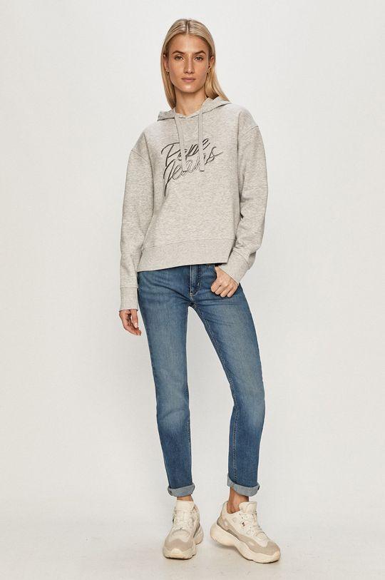 Pepe Jeans - Bluza Carina szary