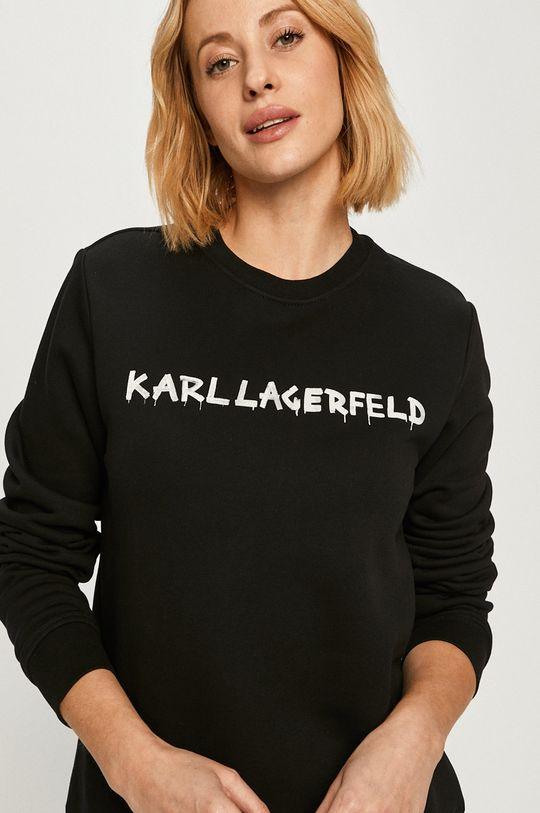 čierna Karl Lagerfeld - Bavlnená mikina