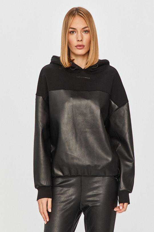 černá Karl Lagerfeld - Mikina Dámský