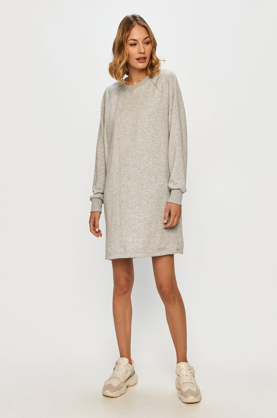 Noisy May - Šaty svetlosivá