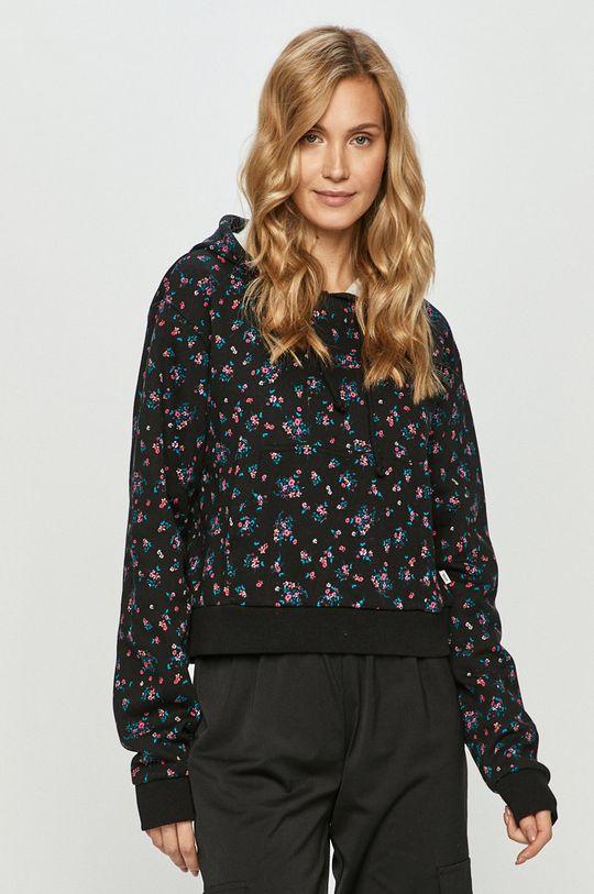czarny Vans - Bluza bawełniana Damski