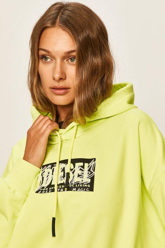 żółto - zielony Diesel - Bluza