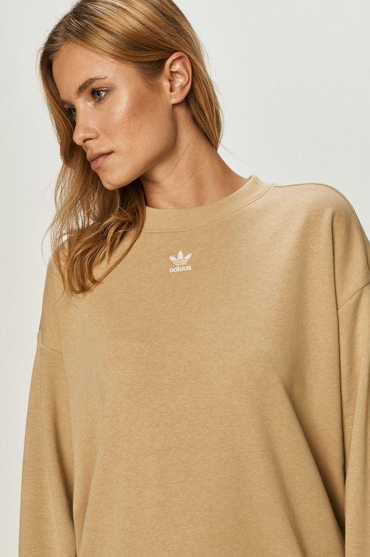 pszeniczny adidas Originals - Bluza