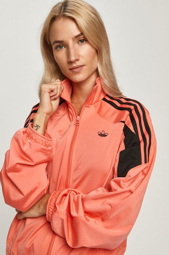 korálová adidas Originals - Mikina
