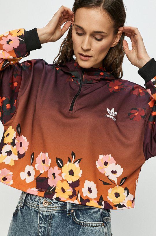 multicolor adidas Originals - Bluza bawełniana